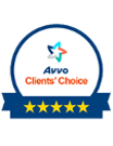 Avvo Clients' Choice 5 Stars